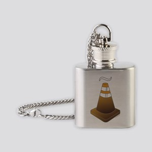 Coño man! Flask Necklace