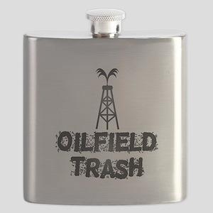 Oilfield Trash Flask
