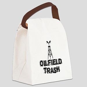 Oilfield Trash Canvas Lunch Bag