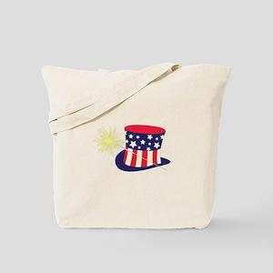 Sparkler Tophat Tote Bag