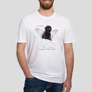 Mastiff(brindle) Angel Fitted T-Shirt