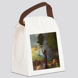 Allegory of Virtue and Vice Canvas Lunch Bag