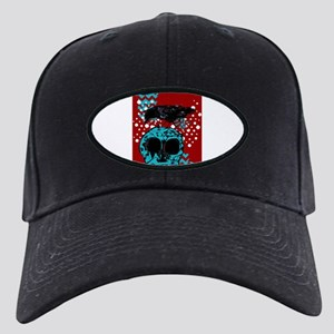 Funky Black Cap with Patch