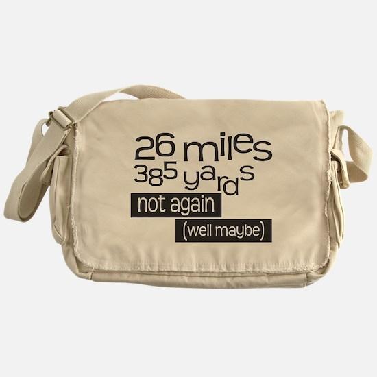Funny 26.2 Marathon Messenger Bag