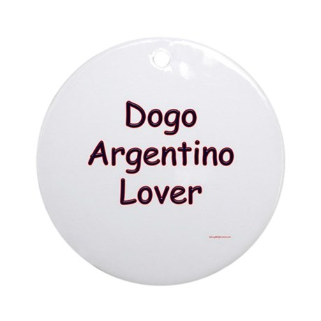Dogo Lover Ornament (Round)