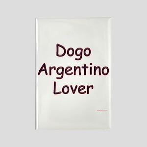Dogo Lover Rectangle Magnet
