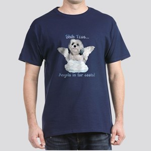 Shih Tzu Angel Dark T-Shirt