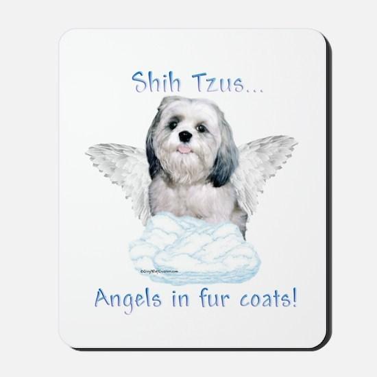 Shih Tzu Angel Mousepad