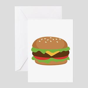 Hamburger Greeting Cards