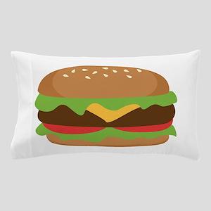 Hamburger Pillow Case
