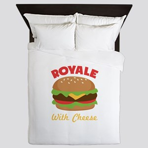 Royal with Cheese Queen Duvet