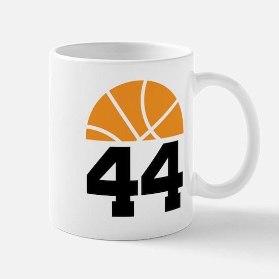 Basketball Number 44 Player Gift Mug