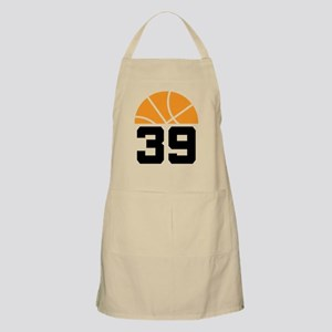 Basketball Number 39 Player Gift Apron