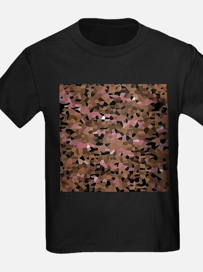 friendly mosaic beige T-Shirt