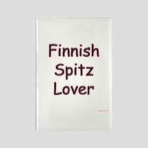 Finnish Spitz Lover Rectangle Magnet