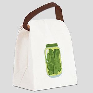 Pickle Jar Canvas Lunch Bag