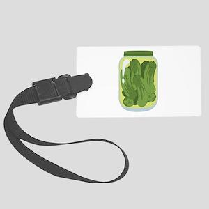 Pickle Jar Luggage Tag