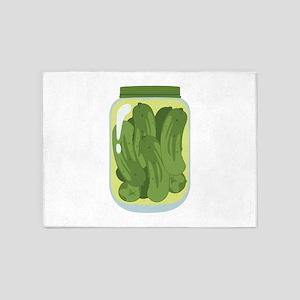 Pickle Jar 5'x7'Area Rug
