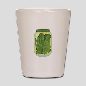 Pickle Jar Shot Glass