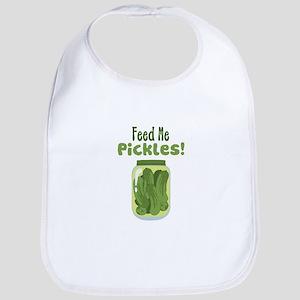 Feed Me Pickles! Bib