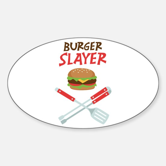 Burger Slayer Decal
