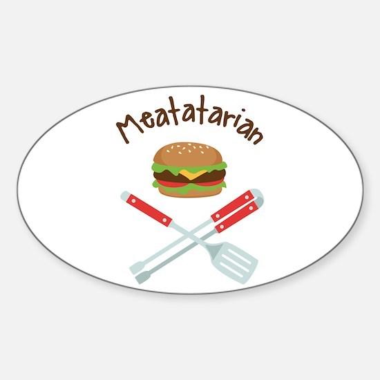 Meatatarian Decal