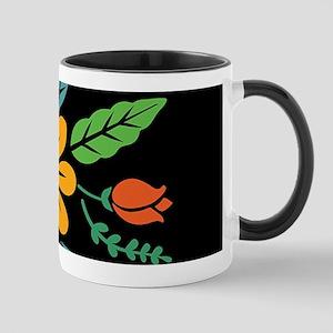Centerpiece (on black) Mugs