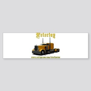Petertoy Bumper Sticker