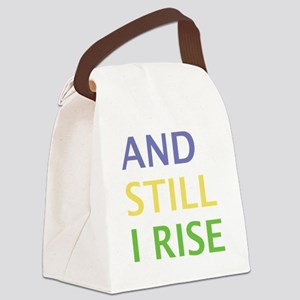 AND STILL I RISE Canvas Lunch Bag