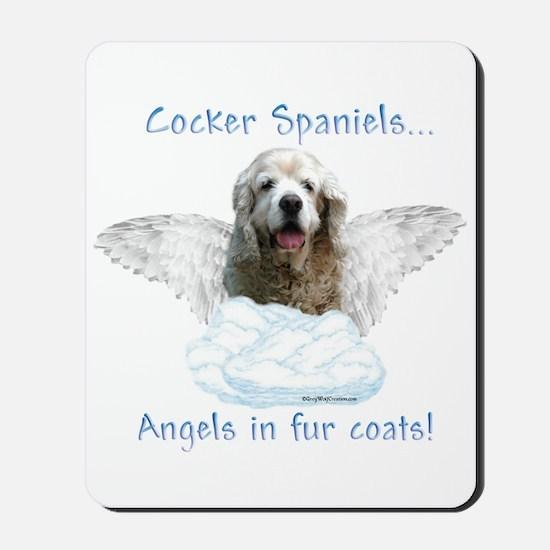 Cocker Angel Mousepad