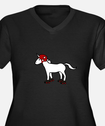 Roller Derby Unicorn Plus Size T-Shirt