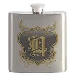Q Monogram Flask