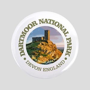 """Dartmoor National Park 3.5"""" Button"""