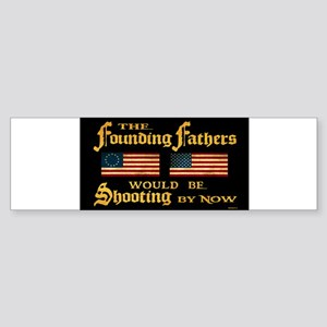 Shooting-5x3 Bumper Sticker
