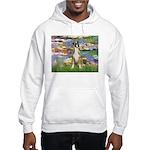 Lilies & Boxer Hooded Sweatshirt