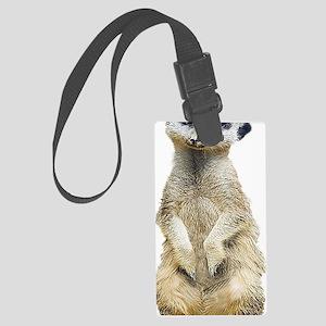 Meerkat Large Luggage Tag