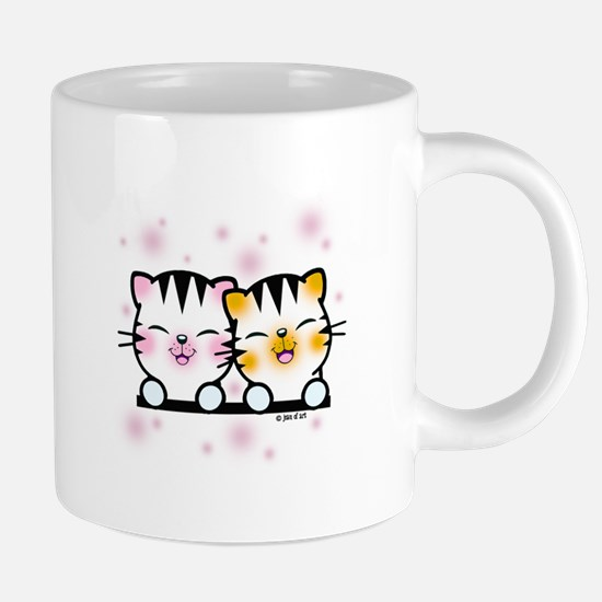 Happy Cats 20 oz Ceramic Mega Mug