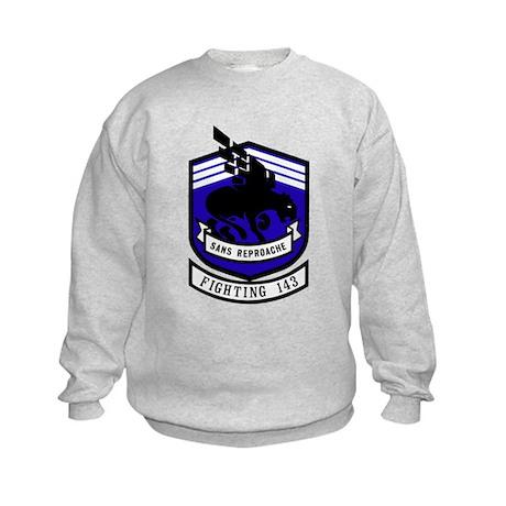 VF 143 / VFA 143 Puking Dogs Kids Sweatshirt