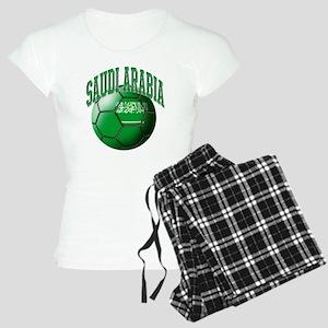 Flag of Saudi Arabia Soccer Women's Light Pajamas