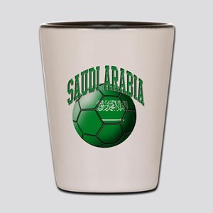 Flag of Saudi Arabia Soccer Ball Shot Glass