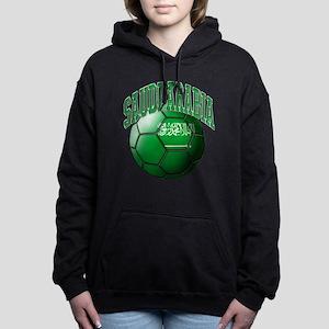 Flag of Saudi Arabia Soccer Ball Hooded Sweatshirt