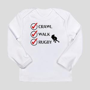 Crawl Walk Rugby Long Sleeve T-Shirt