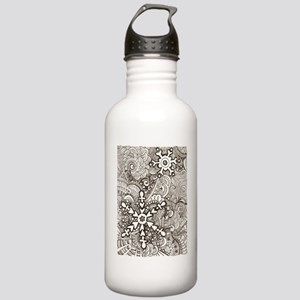 snowflake zen Water Bottle