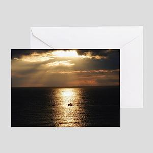 Cozumel Sunset Greeting Card