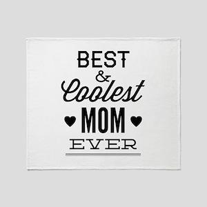 Best & Coolest Mom Ever Stadium Blanket
