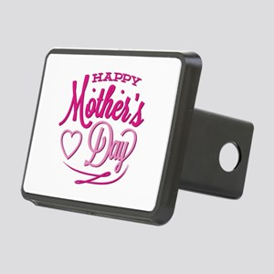 Happy Mother's Day Rectangular Hitch Cover