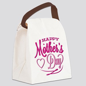 Happy Mother's Day Canvas Lunch Bag