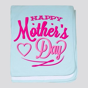 Happy Mother's Day baby blanket