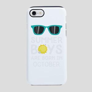 Summer Boys in OCTOBER iPhone 7 Tough Case