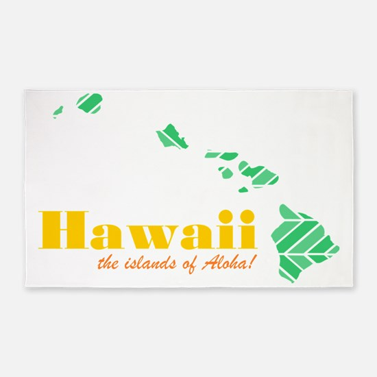 Hawaii 3'x5' Area Rug